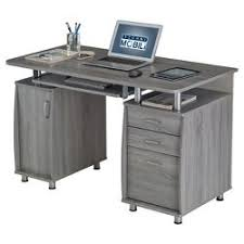 Computer desk office Wood Complete Workstation Computer Desk With Storage Gray Techni Mobili Target Home Office Desks Target