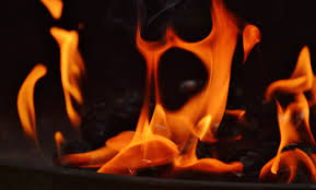 glowing wood flower flame fire fireplace darkness campfire barbecue heat burn brand hot blaze spirit embers