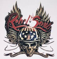 harley davidson kid rock rebel soul printed full color window decal