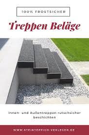Die preise der bindemittel für innen & aussen variieren. Treppen 100 Frostsicher Beschichten Treppe Renovieren Treppe Sanieren Treppenbelag