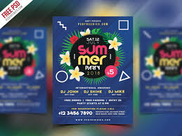 Summer Beach Party Flyer Psd Template – Uxfree.com