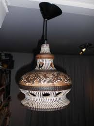herda ceramic terracotta pendant light the netherlands