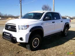 2010 Toyota Tundra TRD Rock Warrior CrewMax 4x4 in Super White ...