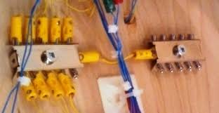 case study electrical installation follows the märklin color coded wiring system the yellow connections of all of the solenoid devices being connected to a 72090