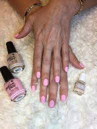 Baby pink color with <b>CND</b> (<b>Creative Nail Design</b>) from USA. - Picture ...