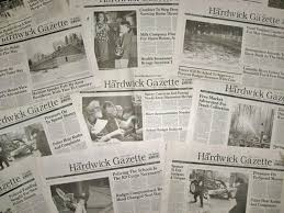 news publisher giving away his newspaper in an essay contest ny  the hardwick gazette is holding an essay contest and the winner gets the paper and