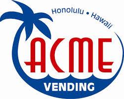 Acme Vending Machine Fascinating Hawaiian Vending Machine Companies Hawaii FREE Vending Machines