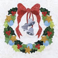 16 best Baltimore Christmas quilt by P3 images on Pinterest ... & Blk # 5 Silver Bells Wreath Pearl P. Find this Pin and more on Baltimore  Christmas quilt ... Adamdwight.com