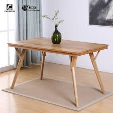 Wood Modern Dining Table Design Japanese Modern Dining Room Oak Wooden Eating Table Designs Buy Wood 12 8 Seater China Nordic Home Manufactures Coffe Product On Alibaba Com