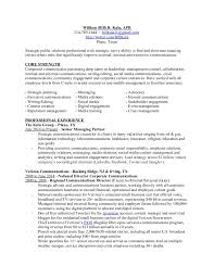 Corporate Communications Resume Fascinating Bill Kula Resume