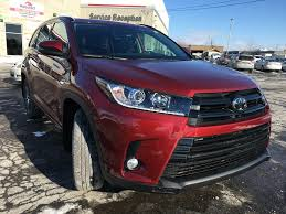 New 2018 Toyota Highlander AWD SE Standard Package JZRFHT BM 4 ...