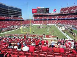 Levis Stadium Section 126 Home Of San Francisco 49ers