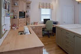 Custom Made Natural Maple Sewing Room by Brunarhans Kitchen And