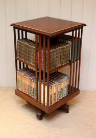 bookcase with glass doors small bookshelf revolving kids bookshelf danner revolving bookcase rotating book shelves