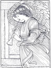 Burne Jones An Angel Playing A Flageolet Masterpieces Adult