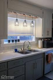 sink lighting. diy pendant light sink lighting i