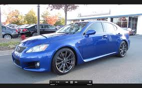 2008 Lexus IS-F Start Up, Exhaust, and In Depth Tour - YouTube