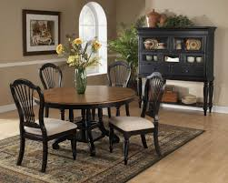 Oval Dining Room Sets Oval Dining Room Table The Daughter - Black oval dining room table