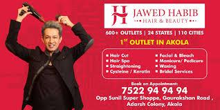 jawed habib hair beauty salon akola city javed habib hair beauty salon beauty spas in akola justdial