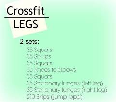 the at home crossfit workout