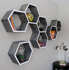 Cool Shelves Diy Wood Honeycomb Shelves Jenna Burger