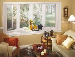 Living Room Bay Window Decorating Ideas
