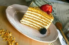 Cream Week Russian Honey Cake ICCAICCA