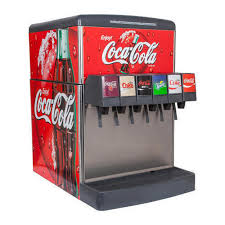Coke Vending Machine Price Enchanting Stainless Steel 48Flavor Counter Electric Soda Fountain System Rs