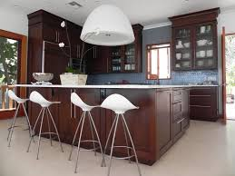 kitchen led lighting ideas. L Shaped White Wooden Cabinets Kitchen Lighting Round Blue Hanging Pendants Simple Led Ideas Fixtures