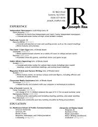Resume Sections Stunning Resume Section Canreklonecco