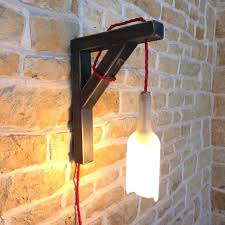 wall light wall sconce hanging bottle hanging wall light wall fixture wine bottle light wall lamp bottle lamp
