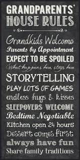 grandparents house rules grandkids welcome chalk look 16 x 8 wood wall art sign plaque check this awesome product by going to the link at the image  on house rules wooden wall art with grandparents house rules chalkboard wall art gift ideas