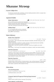 Machine Operator Resume Sample From Plagiarism Checker For Research