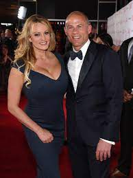 Stormy Daniels and attorney Michael ...