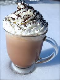 cup of hot chocolate with whipped cream. Interesting Hot Rich Creamy Hot Chocolate The Only Chocolate I Ever Make For My Family In Cup Of With Whipped Cream Sprinkle Some Sugar