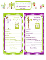 PRINTABLE Mommy To Be Advice Cards Baby Advice Cards PrintBaby Shower Cards To Print