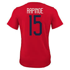 Uswnt T-shirt Fifa World Name Cup Number Rapinoe amp; Red Megan - Women's 2019 Champions aedbccbabcbe|Rams Vs Seahawks