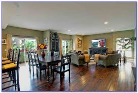 Kitchen Living Room Color Schemes Open Kitchen And Living Room Color Scheme Painting Home Design