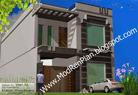 Modern Home Design Front View And Landscaping Beautiful Indian - Architect home design