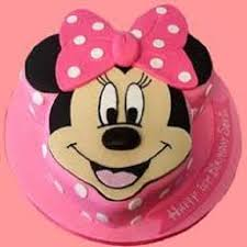 Mickey Mouse Face Cake 2 Kg Kc Bakers