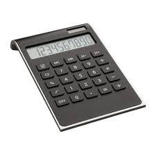Black Sleek Calculator