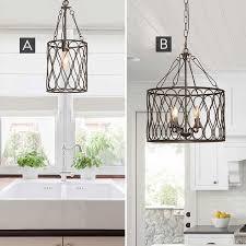 lattice inspired iron drum chandelier pick your style