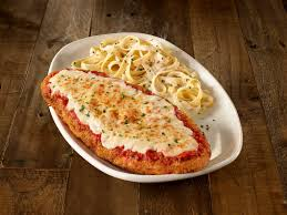olive garden giant en parm with alfredo