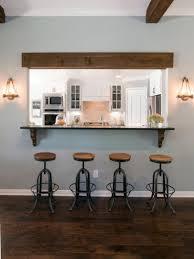 breakfast bar kitchen window grey metal island range hood wall mounted range hood maroon metal bar