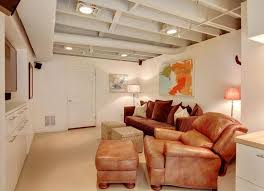 basement ceiling lighting. Unfinished Basement Ceiling Lighting Ideas