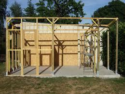 Construire Un Abri De Jardin En Bois Soi Meme Construire Un Abri