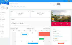 Bootstrap Material Design Example Best Bootstrap Admin Templates With Material Design