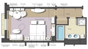 luxury hotel room layout57 room