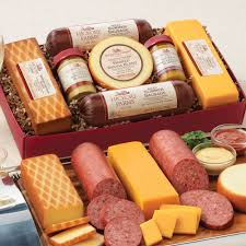 hickory farms summer sausage and cheese gift boxhickory farms summer sausage and cheese gift box
