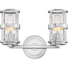 Hinkley Lighting Bathroom Light Fixtures Hinkley Hin 5432cm Noah Two Light Bathroom Wall Sconce Light